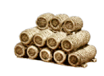 Harburn Hobbies HN 601 Wooden Barrels, stacked horizontally